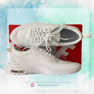 💕2 for $175 Nike - Air Max Thea in White Size 7 or 8
